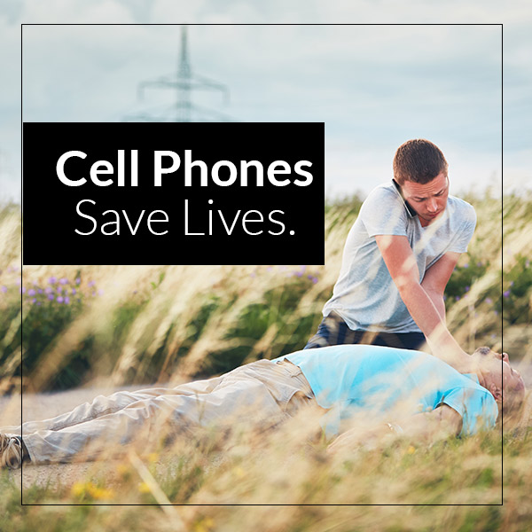 cell phone saves lives