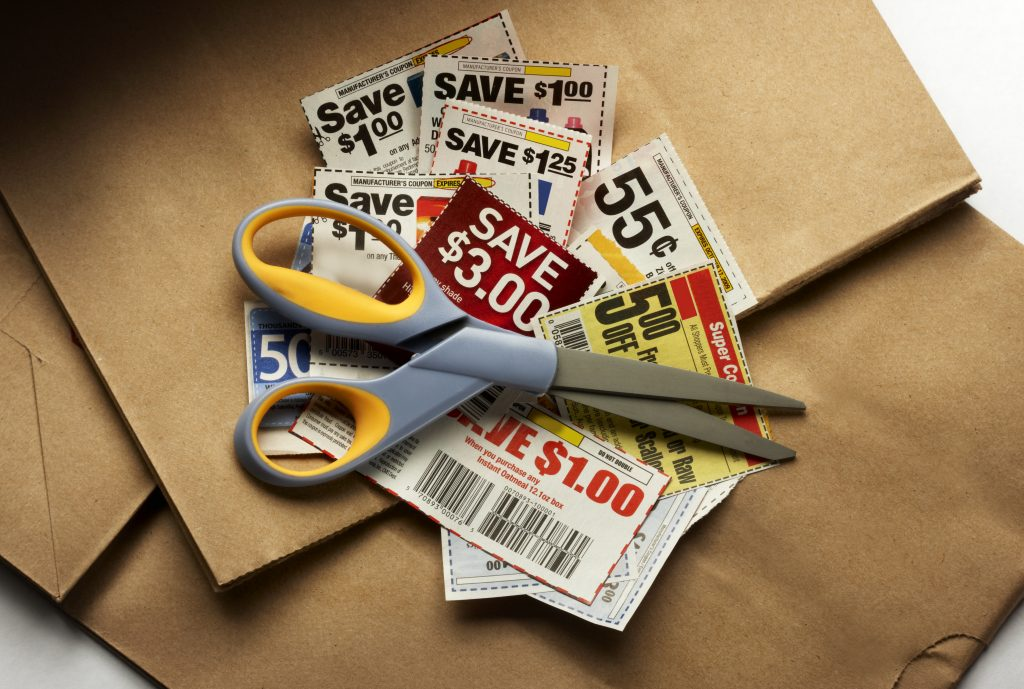 save money on food with coupons