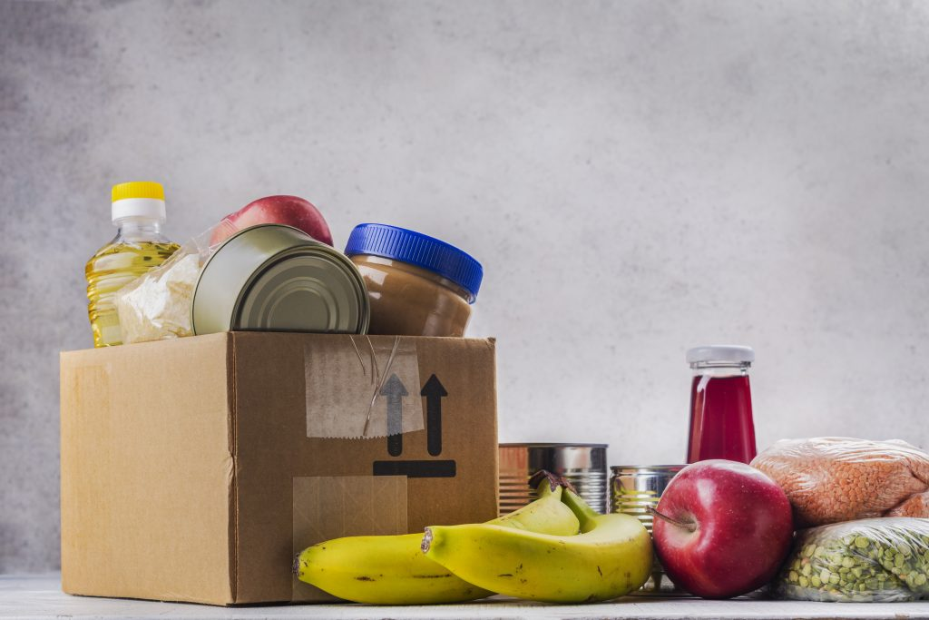 save money on food with community food banks