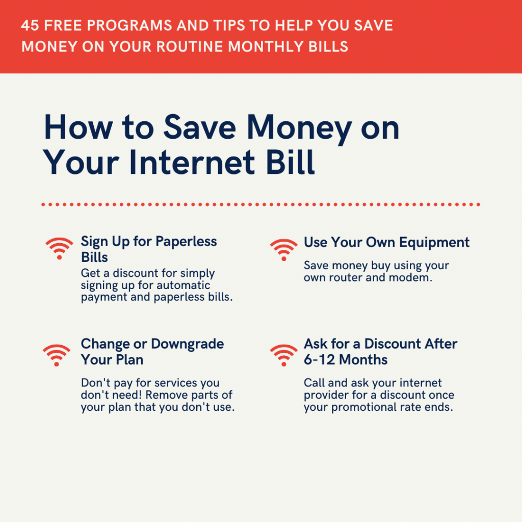 save money on bills