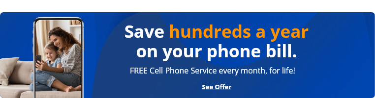 save hundreds of dollars by switching to q link wireless, cut your phone bill, eliminate your phone bill and get access to 5G nationwide coverage all for free. free phone service with q link wireless